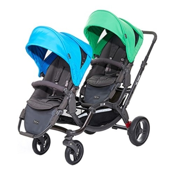 ABC Design Geschwisterwagen Zoom - Water Grass -
