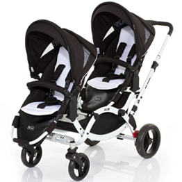 ABC Design Zoom Geschwisterkinderwagen - phantom - Modell 2015 -
